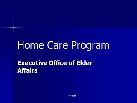 Executive Office of Elder Affairs