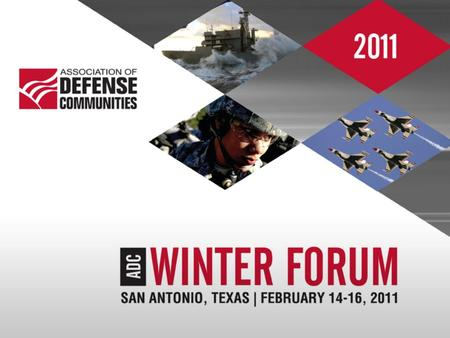 Association of Defense Communities Winter Forum 2011 San Antonio, TX Navy EUL Program Larry Chernikoff EUL Program Manager.