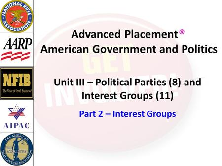 Advanced Placement® American Government and Politics