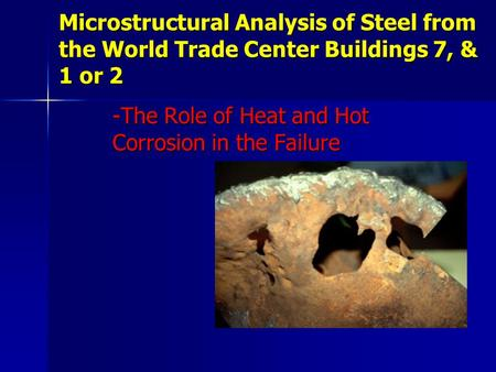 -The Role of Heat and Hot Corrosion in the Failure