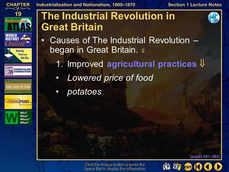 <strong>The</strong> Industrial Revolution <strong>in</strong> Great Britain