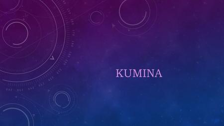 KUMINA. WHAT IS KUMINA? Kumina is an Afro-Jamaican religious belief system and practice.