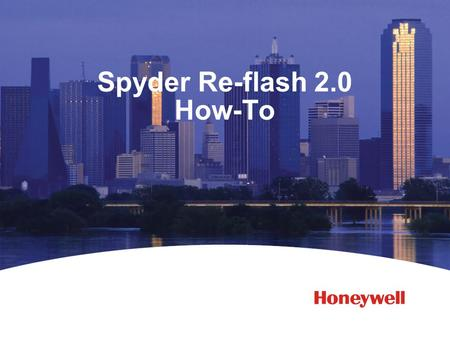 Spyder Re-flash 2.0 How-To. 2 What's New In Re-Flash Tool 2.0? Updated user interface - Removed some extraneous information columns in the discovery window.