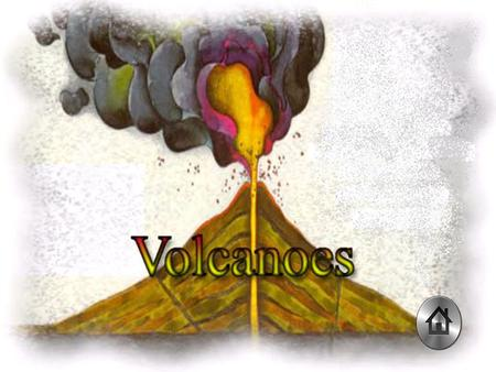 Volcanoes are often cone-shaped, but they can take other shapes too. They are formed when molten, sticky rock called magma, forces its way through a crack.