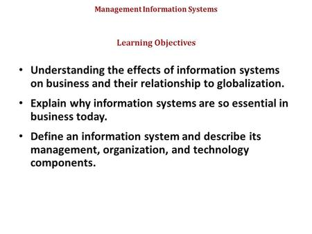 effects of globalization on management He has earned a bachelor of arts in management from  positive-effects-globalization-business  what are the positive effects of globalization in.