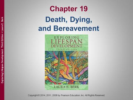 Chapter 19 Death, Dying, and Bereavement