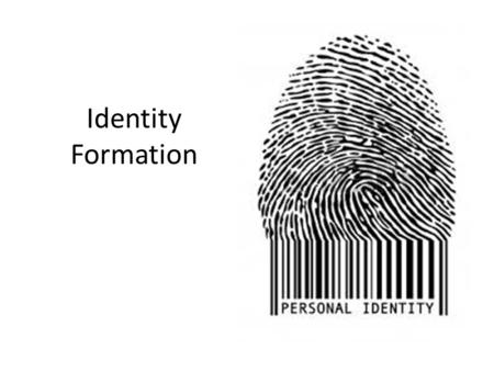 Identity Formation. Just Do It Please complete only PART 1 of the worksheet. While completing the worksheet think about who you believe you are as a person.