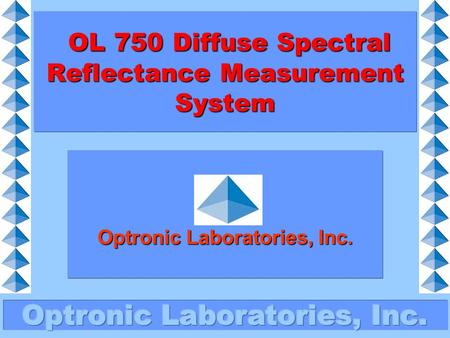 OL 750 Diffuse Spectral Reflectance Measurement System