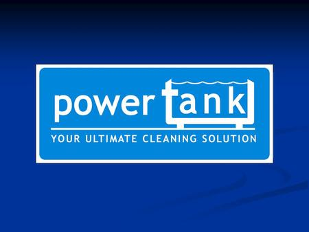 Welcome to Power-Tank. We hope you will find it as rewarding as we do. We are always amazed at the reaction of new customers after they have tried our.