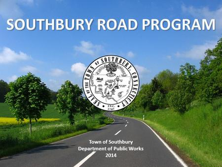 Town of Southbury Department of Public Works 2014.