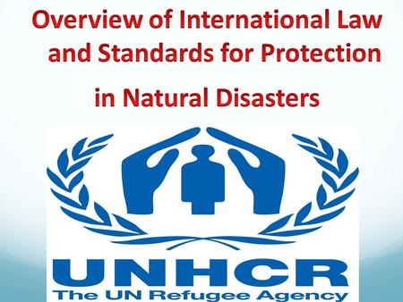 HOW DO NATURAL DISASTERS AFFECT HUMAN RIGHTS? Lack of safety and security (e.g. rampant crime, secondary impacts of natural disasters, etc) Gender-based.