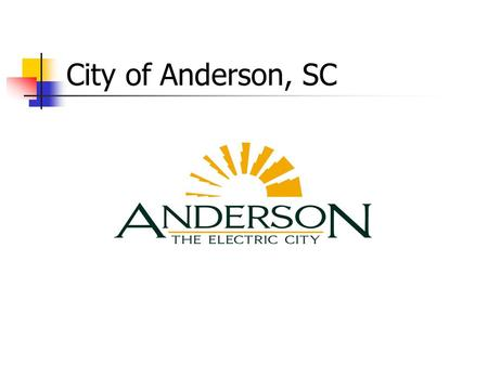 City of Anderson, SC. Provides first time home buyers affordable housing through the Joint Venture for Affordable Housing (JVAH) Program.