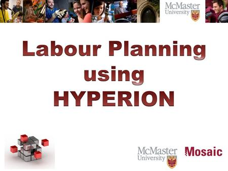 Review the Labour Planning Process.  Assumptions and Collective Agreements in Hyperion Planning.  Review the HR Master data.  Hyperion Labour Plan.