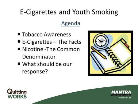 E-Cigarettes and Youth Smoking