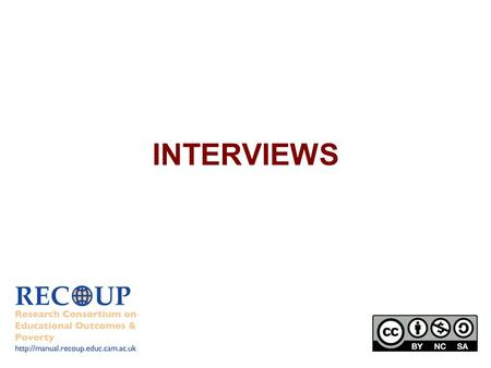 INTERVIEWS.  An interview is a powerful research instrument which can help understand… Perceptions Feelings Understandings.