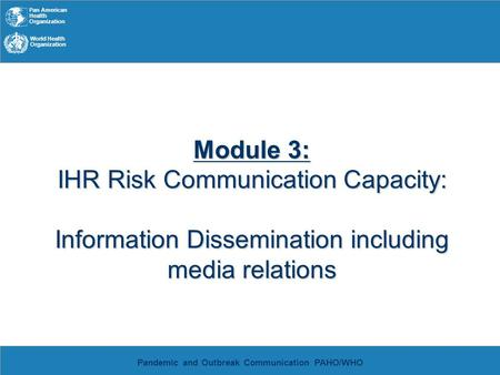 communicating risk information Risk communication, information ecosystem, communication channel unisdr   advances in technology have improved scientific risk information dramatically.