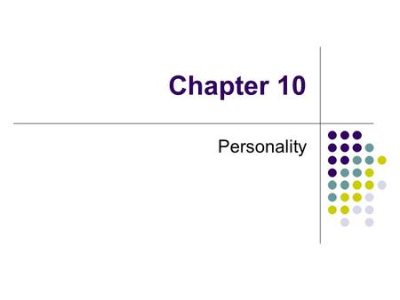 describe yourself with 10 psychological characteristics Our test is capable of describing over 30^6 or 729 million possible personality  types by comparing you to the existing (3 million) respondents we show you.