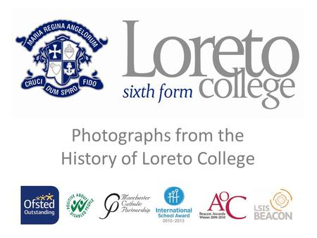 Photographs from the History of Loreto College. Five Ball Back Row: Patricia McGinn, Deborah Bridgehouse, Christine Allcock, Clare Lee, Anne Gibbons,