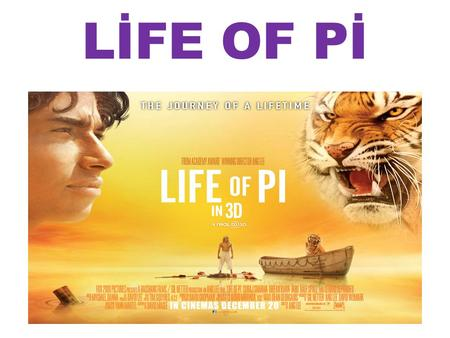 Discussion questions life of pi chapters ppt video online for Life of pi family