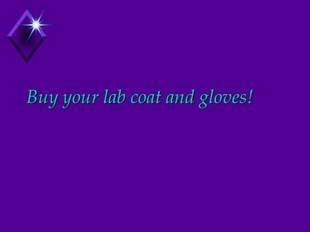 Buy your lab coat and gloves!. Chapter 9 Joints = Articulations Where ANY bones come together.