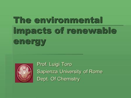 environmental impacts of wind energy pdf