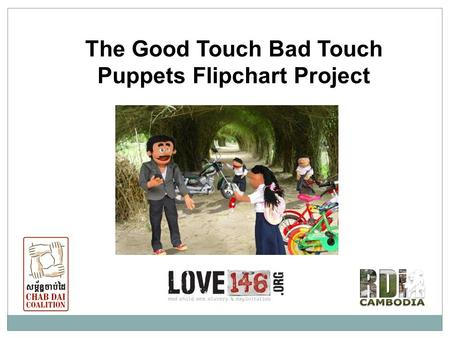 The Good Touch Bad Touch Puppets Flipchart Project.