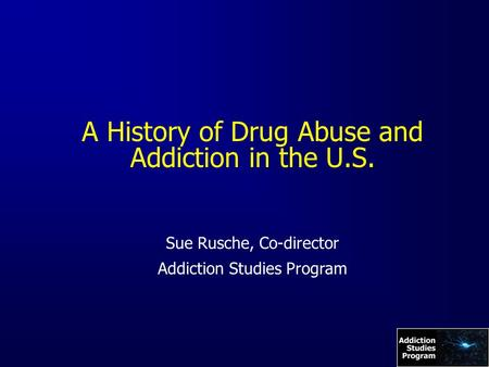 an overview of the drug abuse in the united states of america Learning what the most commonly abused drugs in the united states are can be helpful in avoiding serious and even deadly consequences for you or a loved one are among the fastest growing substance abuse trends in america.