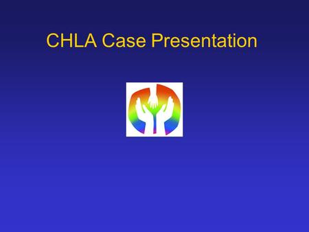 CHLA Case Presentation. History HPI: 10 year old male with Down syndrome and a 1 week history of headache, nausea, vomiting, dizziness and unsteady gait.