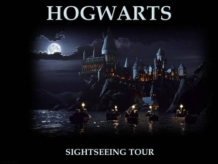 SIGHTSEEING TOUR. Hogwarts School was actually filmed in different places.