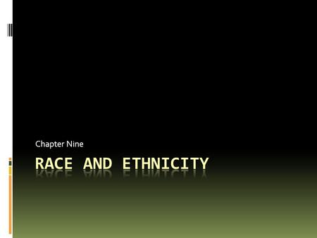 an analysis of the ethnic stratification and the common cultural or physical characteristics Definitions of race and ethnicity  in which physical and cultural differences develop into critical social differences  the enigma of ethnicity: an analysis .