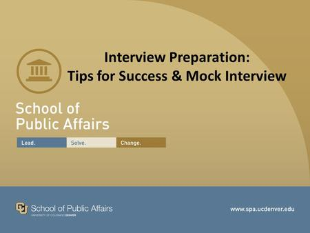 Interview Preparation: Tips for Success & Mock Interview.