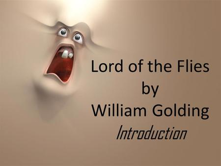 Lord of the Flies Roger