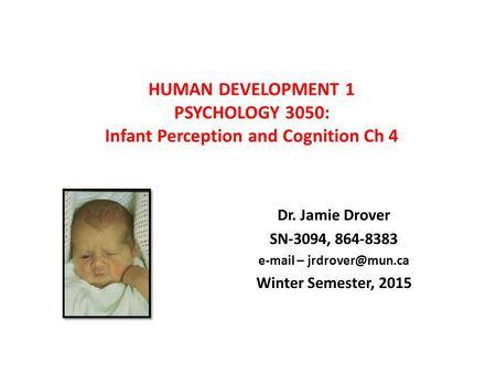 Seeing, Thinking, and Doing in Infancy How Children ...