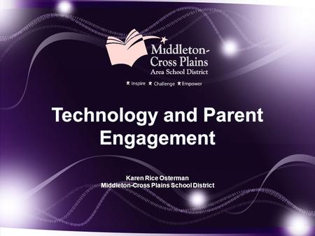 Technology and Parent Engagement