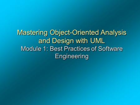 Experimental design and analysis in software engineering