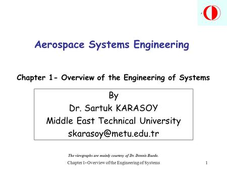 Aerospace Systems Engineering