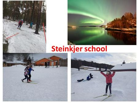 Steinkjer school. Our presentation 1st grade - Waste sorting. Projects with decomposition 2 nd grade - Life in the intertidal zone 3 rd grade – Solar.