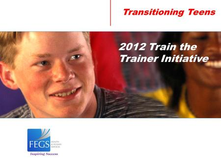 Transitioning Teens 2012 Train the Trainer Initiative.