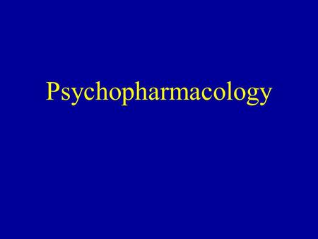 Psychopharmacology. Incorrect assumptions Patient is triaged as psychiatric, therefore patient is psychiatric. Patient has a history of psychiatric presentations,