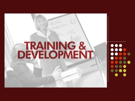 """ TRAINING AND DEVELOPMENT "" is a subsystem of an organization"