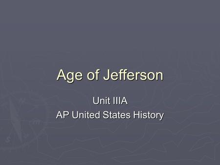 ap us history dbq jefferson madison 1996 ap us history free response dbq the characterization of these two political parties during the presidencies of jefferson and madison were inconsistent.