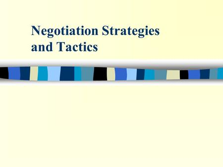 "Negotiation Strategies and Tactics. 6.7_2 Evolution of Negotiation ""A Plan for Success"" n Give and TakeDr. Chester Karrass n Getting to YesFisher and."