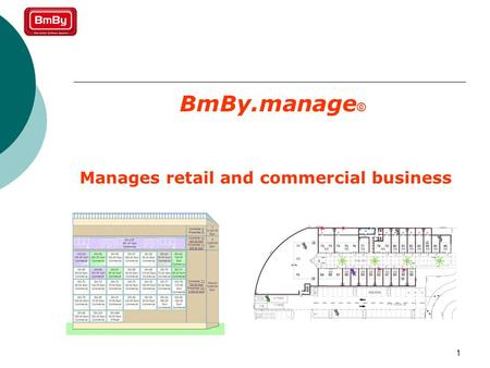 1 BmBy.manage © Manages retail and commercial business.