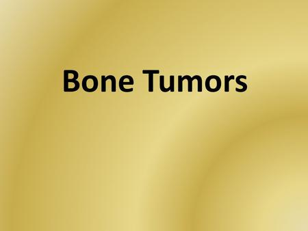 Bone Tumors. Most of them are highly malignant and affect children frequently. Regional lymph nodes are rarely affected. Bone neoplasms change or destroy.