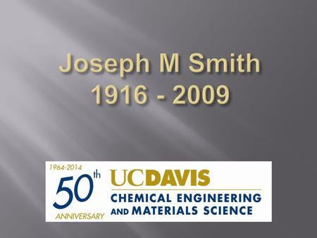 Introduction to Chemical Engineering Thermodynamics was first published in 1947 in paperback for his students at Purdue. In 1949, McGraw-Hill.