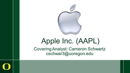 Apple Inc. (AAPL) Covering Analyst: Cameron Schwartz