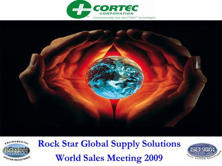 VpCI™ Packaging Solutions Rock Star Global Supply Solutions World Sales Meeting 2009.