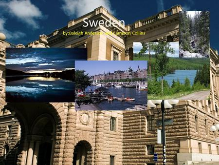 Sweden by:Baleigh Anderson and Cameron Collins Holidays and events New years day If you visit Sweden between New Years' Day and Easter, you'll find that.