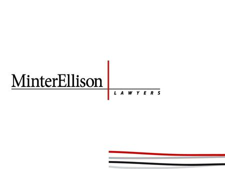 Acting for insurer and insured – conflict? Cameron Oxley Partner Minter Ellison 27 February 2013.