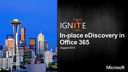 In-place eDiscovery in Office 365 August 2013. What is In-place eDiscovery ? How to do In-place eDiscovery? Different methods of viewing In-place eDiscovery.